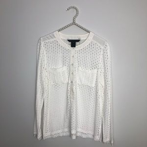 Marc by Marc Jacobs lace top blouse